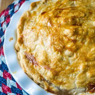 Apple Walnut Pie patriotic dessert