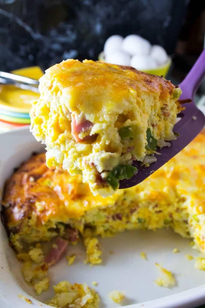 The Best Secret Ingredient Breakfast Casserole - Pack Momma