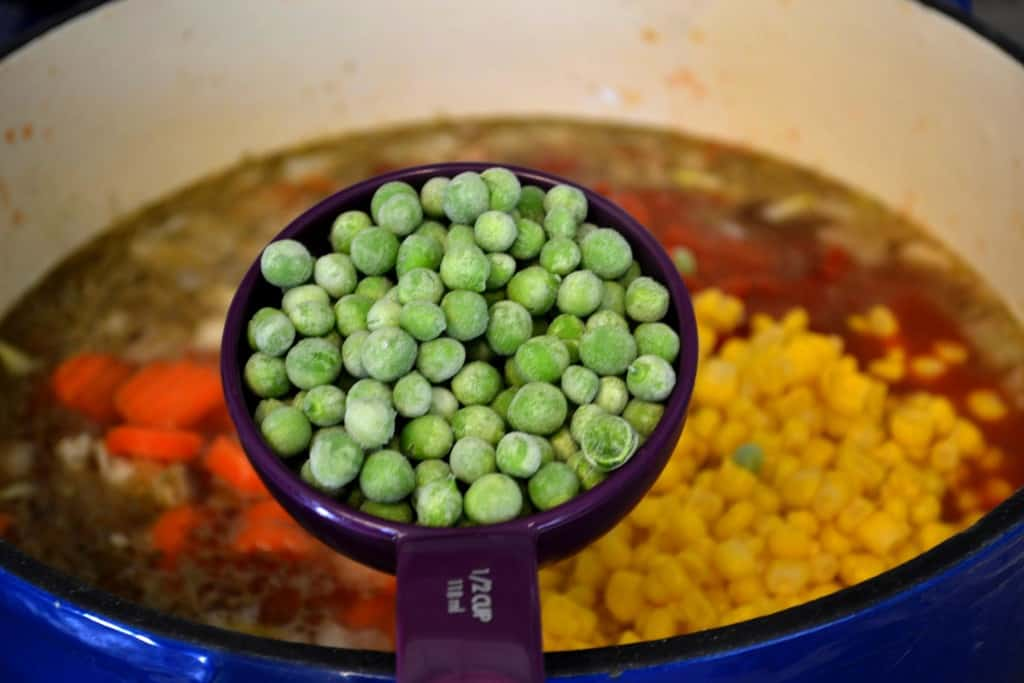 Weight Loss Vegetable Soup peas