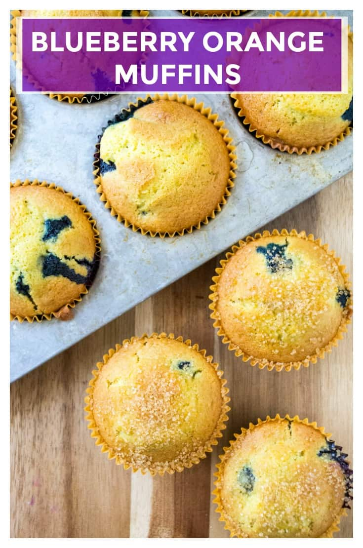 Blueberry Orange Muffins are buttery, bursting with tangy orange flavor and are packed full of delicious blueberries. Easy to make and quick to serve up, these Blueberry Orange Muffins are the perfect breakfast muffin to start your day. | A Wicked Whisk | https://www.awickedwhisk.com #muffins #blueberrymuffins #blueberryorangemuffins #orangemuffins #breakfastmuffins #breakfastideas