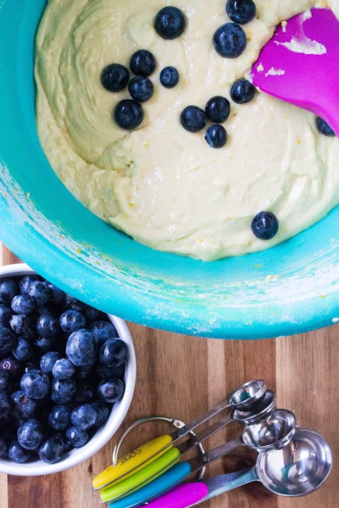 Blueberry Orange Muffins blueberries