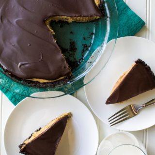 No Bakes Chocolate Peanut Butter Pie