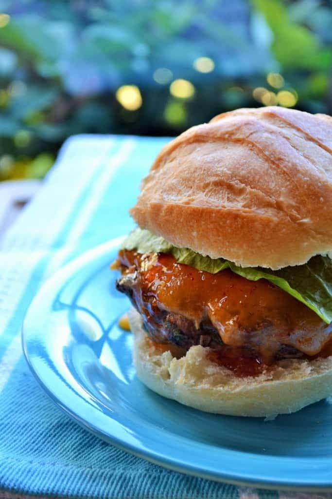 Tex Mex Turkey Burger