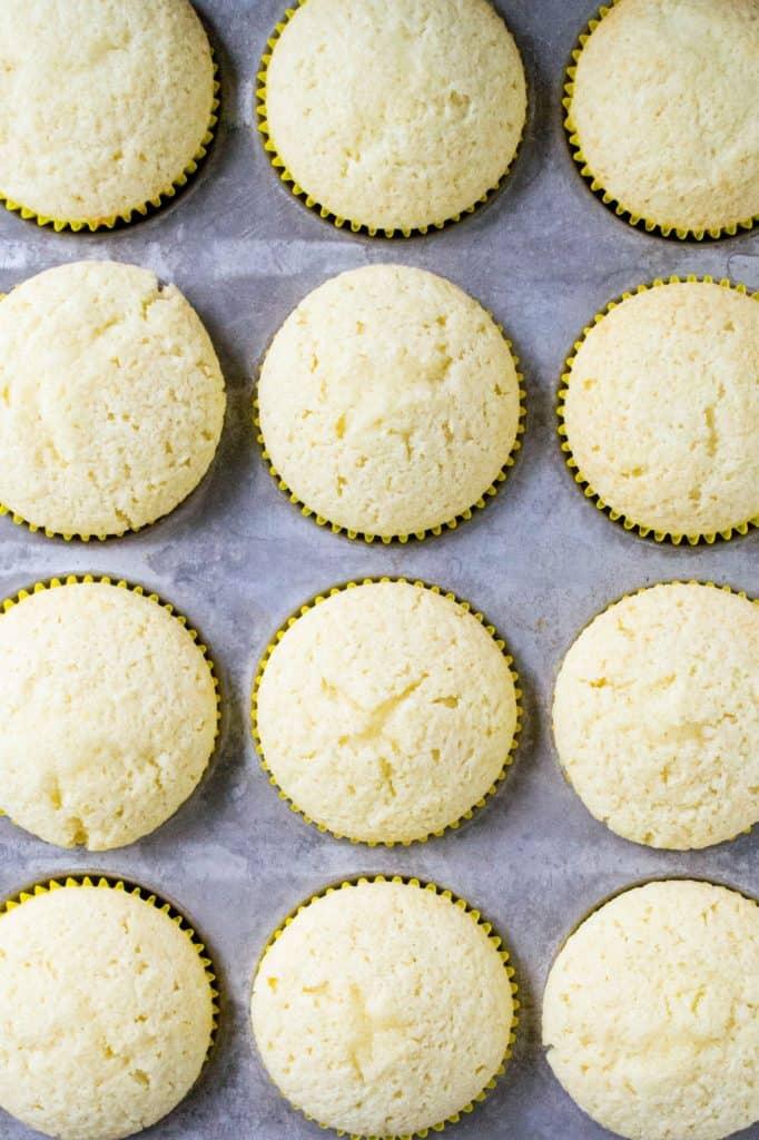 Raspberry Lemon Cupcakes cooked