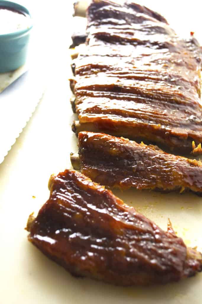 Asian BBQ Ribs rib rack