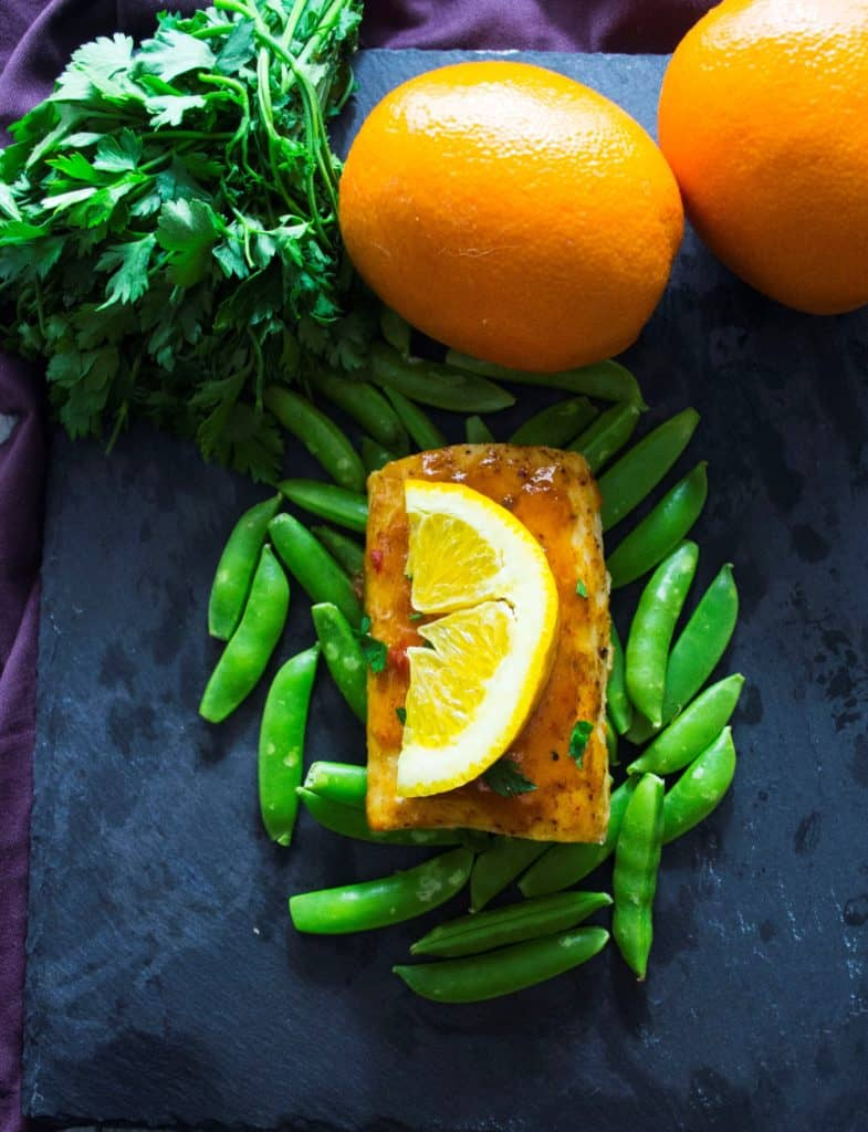 Baked Mahi Mahi with Citrus Glaze | This Baked Mahi Mahi with Citrus Glaze is healthy, nutritious and delicious! | Pack Momma | https://www.awickedwhisk.com