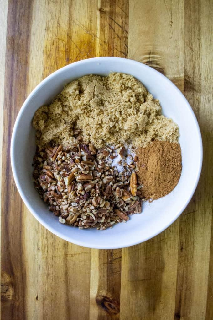 cinnamon pecan filling