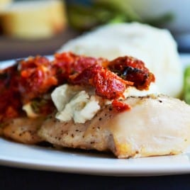 Chicken Bryan Carrabba's Copycat   Chicken Bryan Carrabba's Copycat recipe is juicy chicken with a rich lemon butter sauce, sun-dried tomatoes, creamy goat cheese and fresh basil. Perfect!   Pack Momma   https://www.awickedwhisk.com