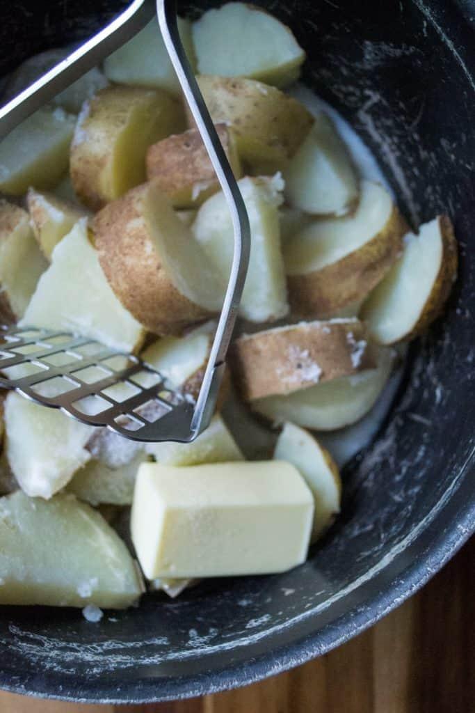 Turkey Shepherd's Piemashed potatoes