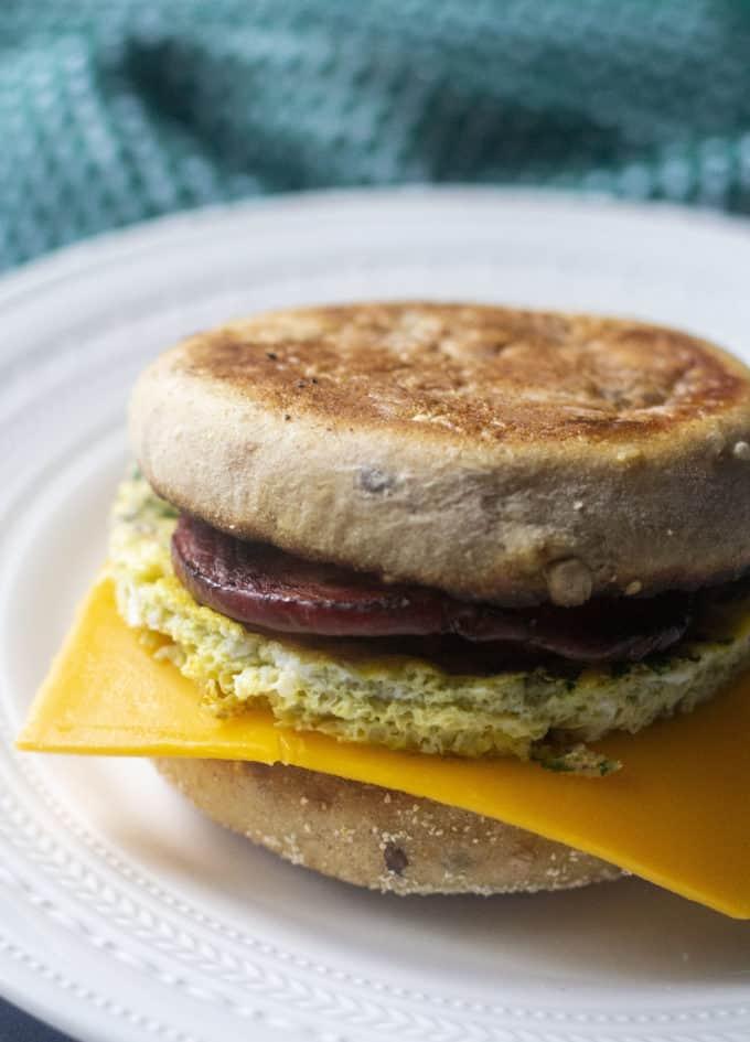 make ahead breakfast sanchwich