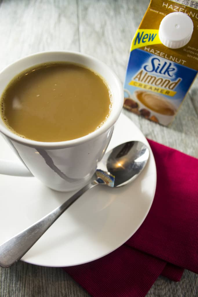 The Perfect Cup of Coffee with Silk Hazelnut Creamer
