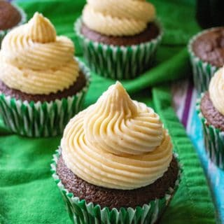 Baileys St. Patrick's Day Cupcakes