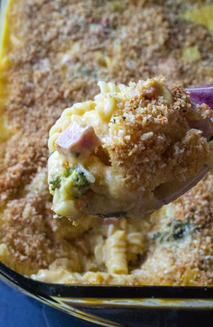 Broccoli Ham and Cheese Casserole