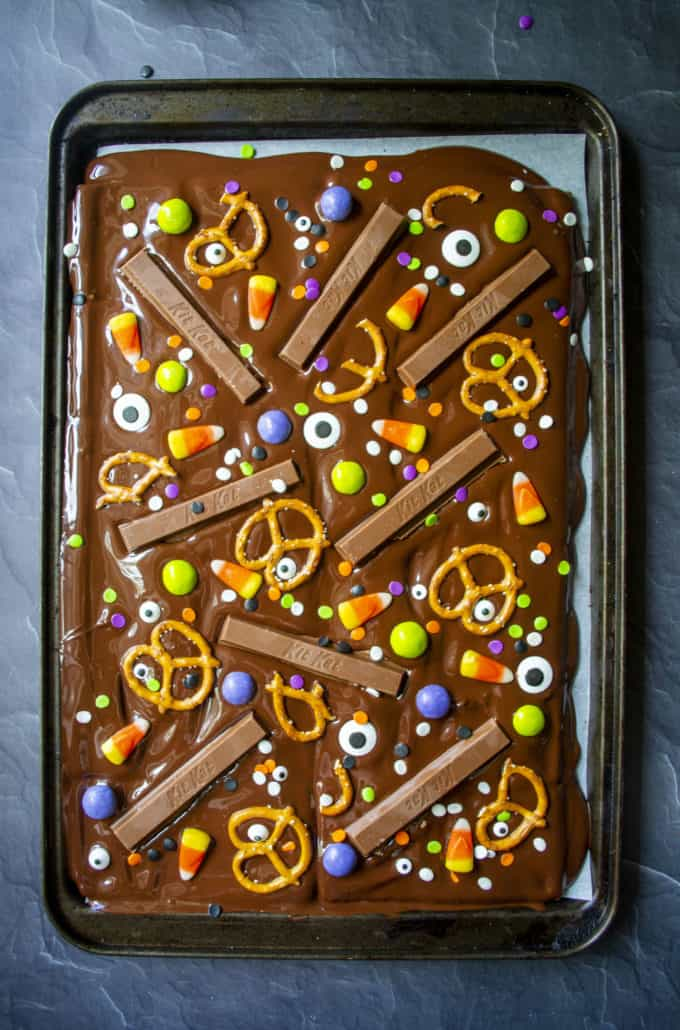 chocolate candy bark