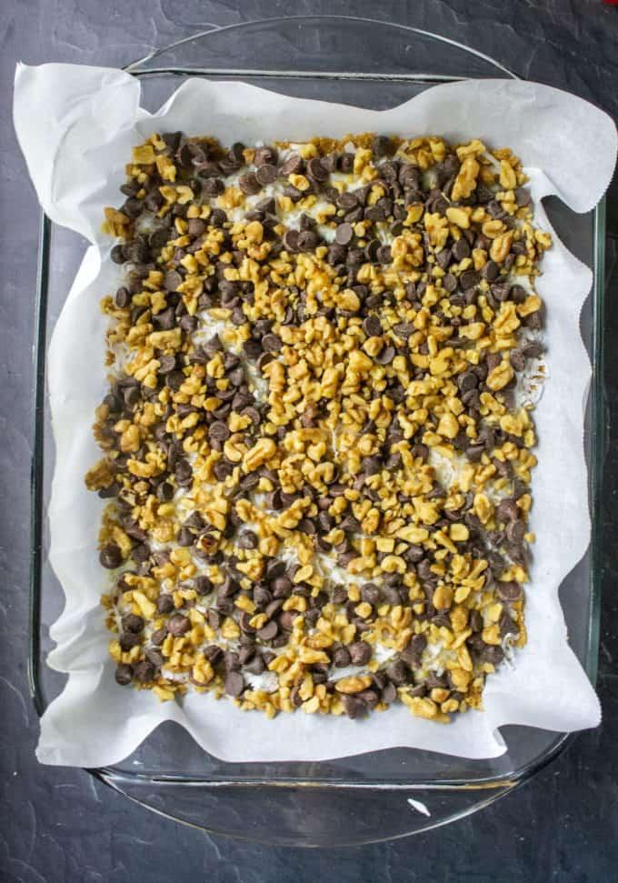 magic bar nut layer