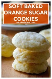 Soft Baked Orange Sugar Cookies are soft sugar cookies that burst with orange flavor and are sure to be your new favorite easy cookie recipe. #orangesugarcookies #orangecookies #sugarcookies #softbakedsugarcookies #softbakedorangesugarcookies #holidaycookies #easycookierecipe #christmascookies #easychristmascookierecipe #easyholidaycookierecipe #easyorangecookierecipe #easysugarcookierecipe #softsugarcookies #softcookierecipe