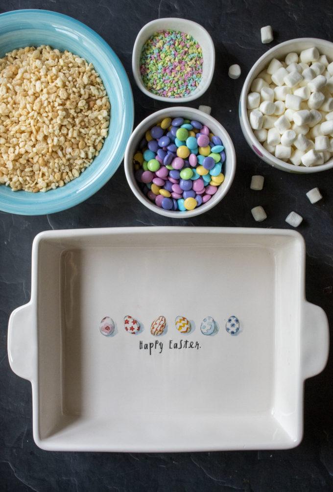 easter cereal bar ingredients