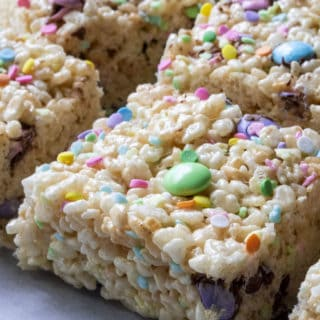 rice krispie cereal bars for easter