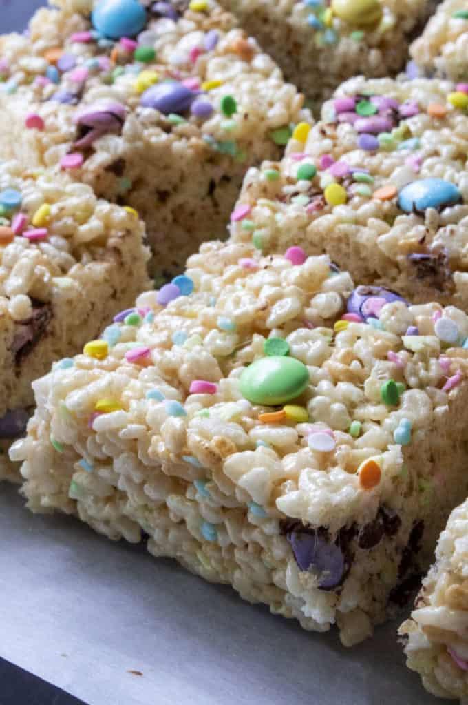 rice krispie cereal bars for easter