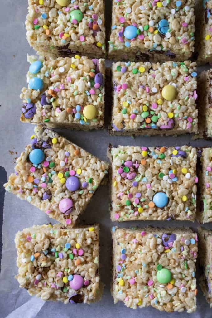 Rice Krispie Easter Treats