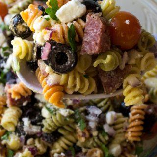 Italian Pasta Salad with Pepperoni