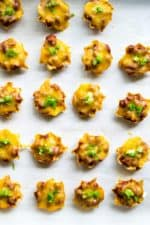 Layered Chili Cheese Dip Bites
