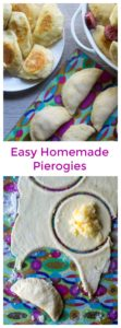 Homemade Pierogies   Homemade Pierogies are easy to make dumplings with a tasty potato and cheese filling and then boiled and sauteed in butter for the most delicious dish! #pierogies #homemadepierogies #polishfood #perogies #easypierogirecipe #homemadepolishfood #pierogieshomemade #pierogiesandkielbasa #christmasdinnerideas #pierogidough #homemadepierogidough #easypierogies
