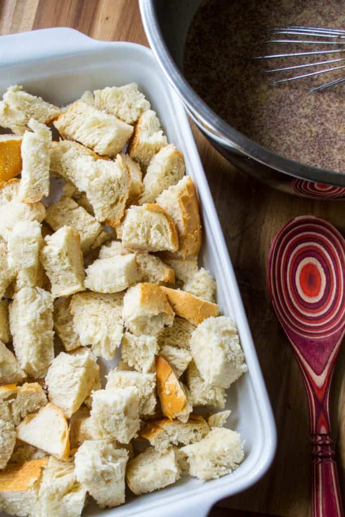 Overnight Challah French Toast Casserole ingredients