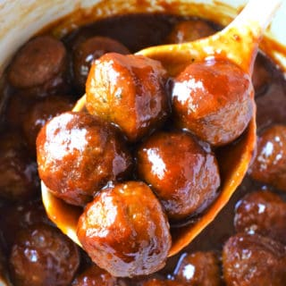 Spicy slow cooker meatballs