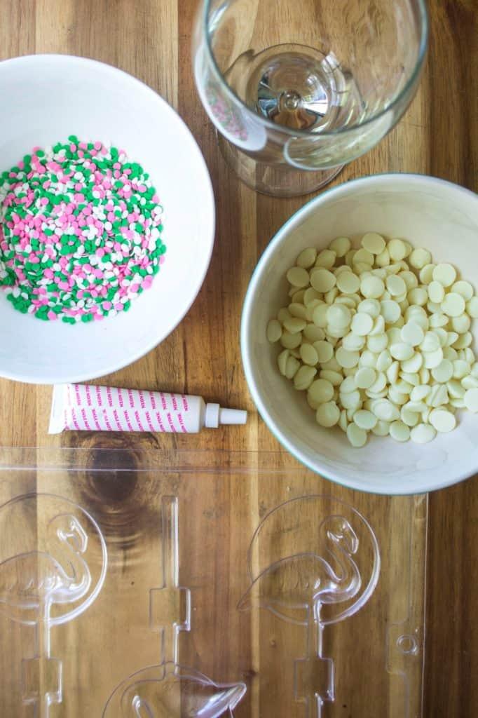 This Pink Velvet Frozen Hot Chocolate Recipe fancy extras