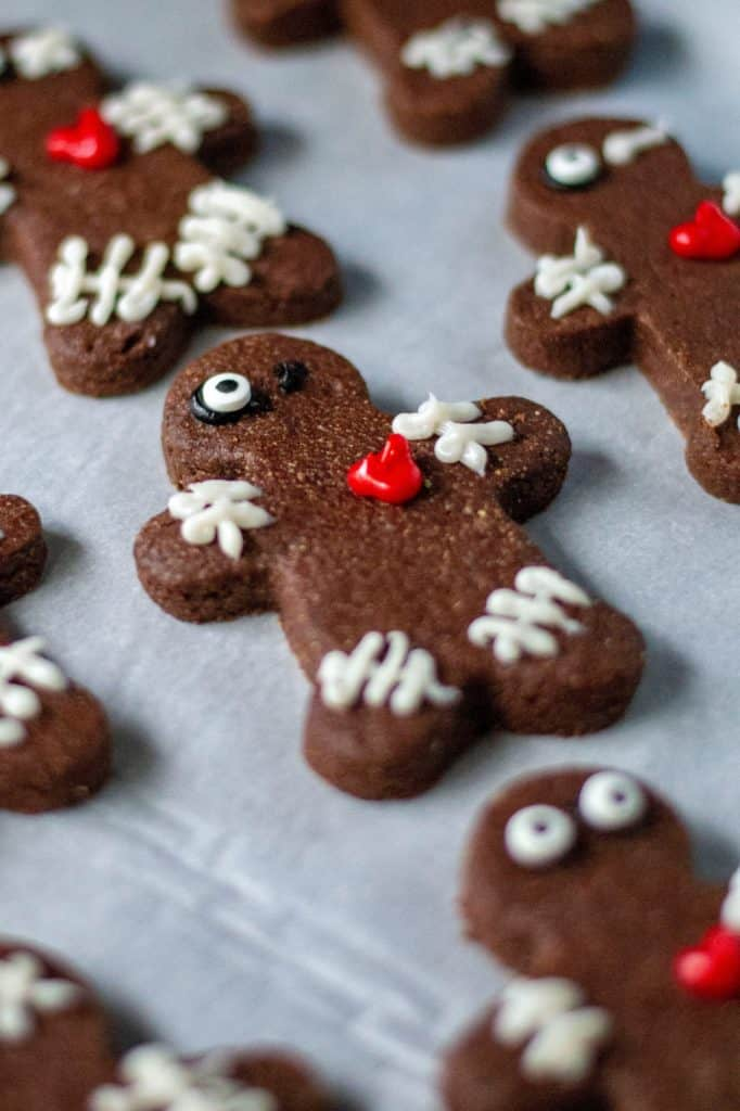 Chocolate Voodoo Doll Cookies