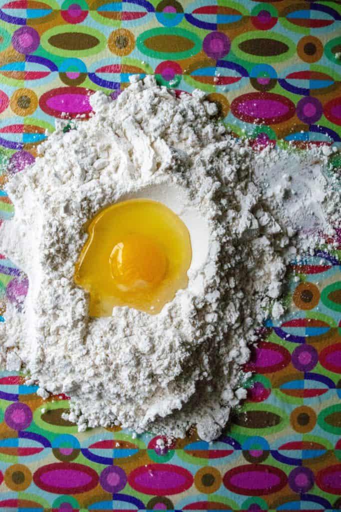 Homemade Chicken Ravioli Recipe dough ingredients