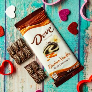 Choose Pleasure and share the love this Valentine's Day with DOVE® Bourbon Vanilla bars. Perfect as a sweet treat for the one you love or a way to celebrate the day for yourself, sharing DOVE® Chocolate Bars is the very best way to celebrate Valentine's Day.