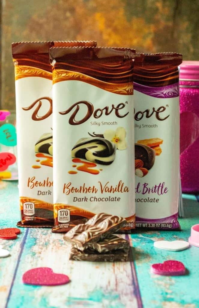 DOVE® Bourbon Vanilla bars