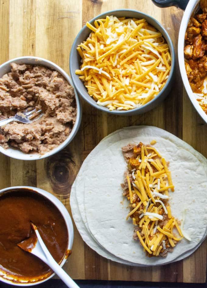 enchilada fillings