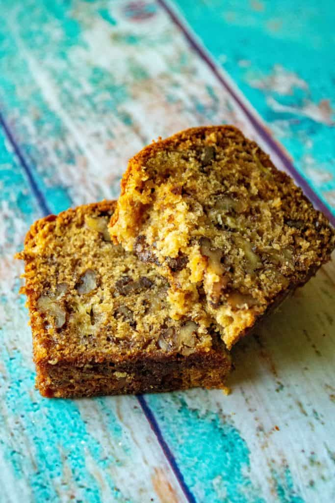 Banana Walnut Bread piece