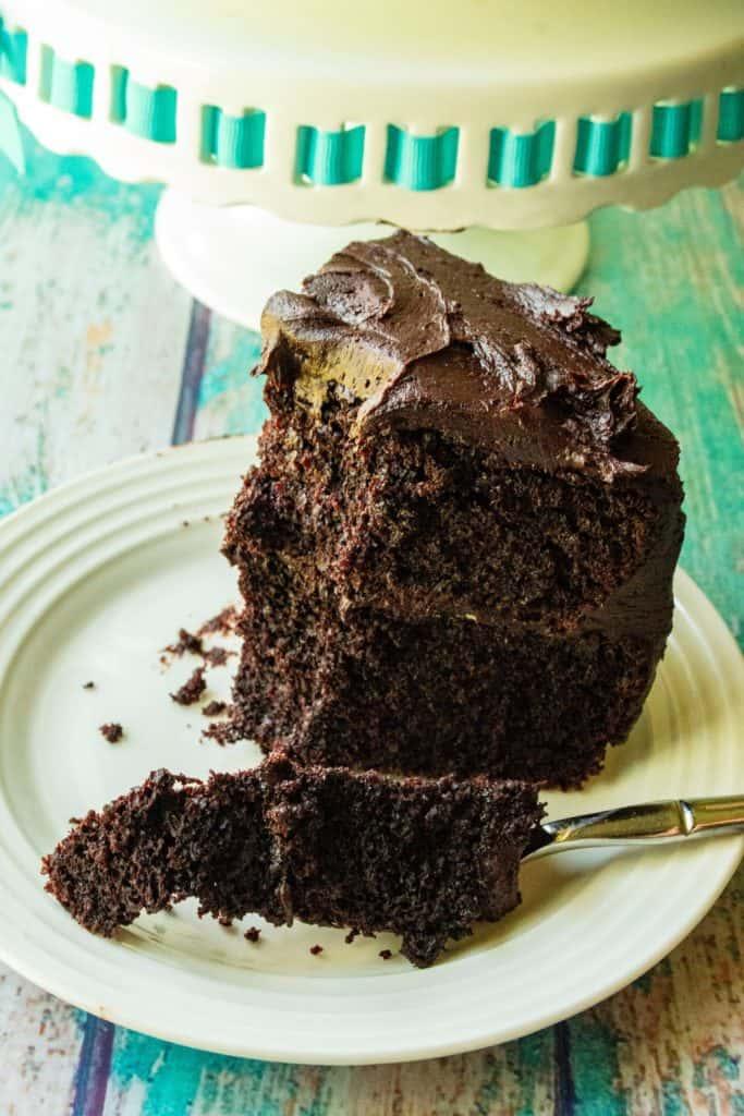 Best Homemade Chocolate Cake bite