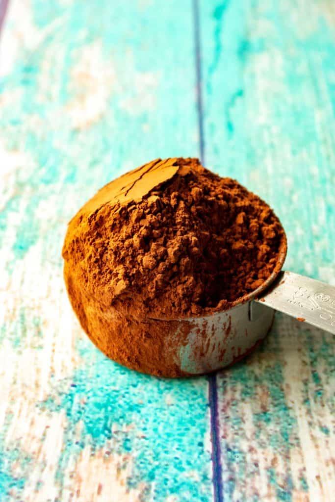 Best Homemade Chocolate Cake cocoa powder