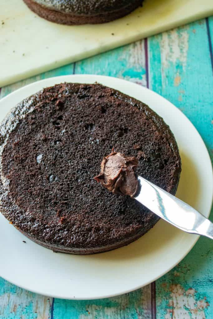 Best Homemade Chocolate Cake frosting