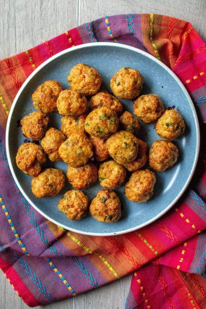Keto Chicken Meatballs