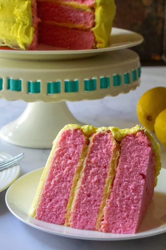 Pink Lemonade Cake   A Wicked Whisk