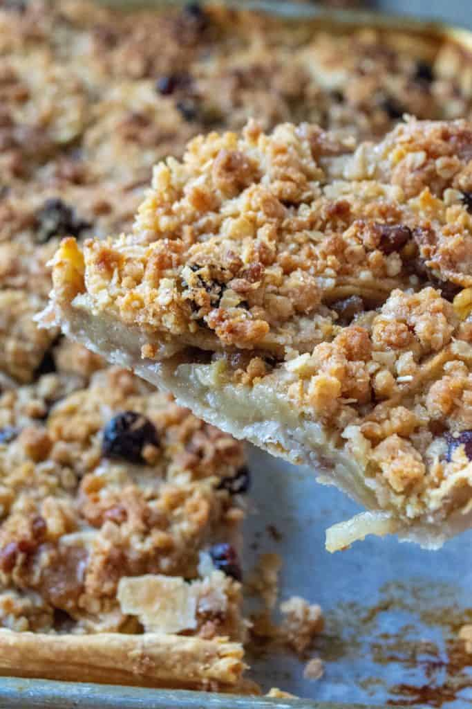 Cranberry Walnut Apple Slab Pie