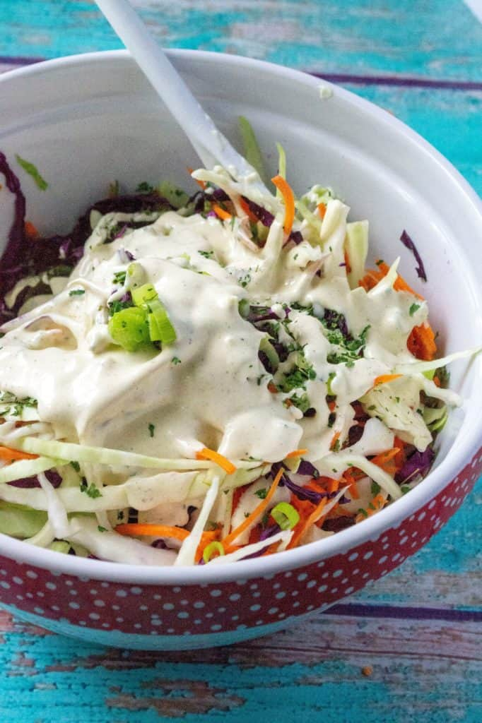 This Best Homemade Coleslaw Recipe