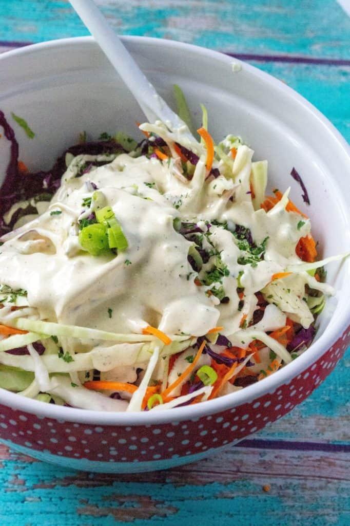 This Best Homemade Coleslaw Recipe