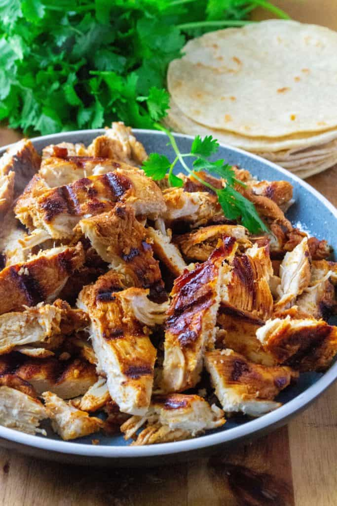 marinated chicken for tacos