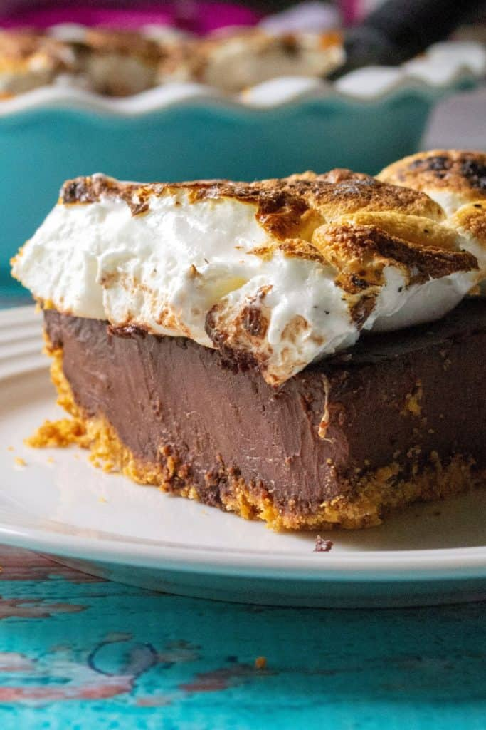 S'mores pie piece
