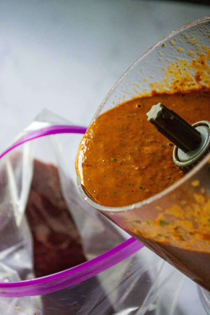 Mexican marinade for steak
