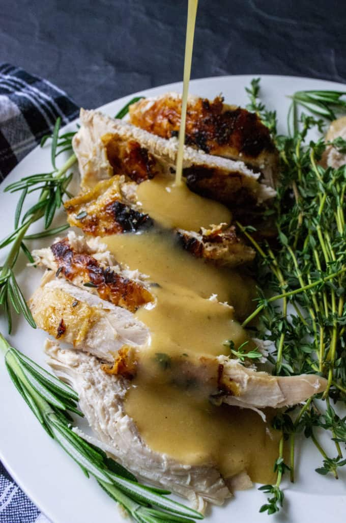 slow cooker turkey with gravy