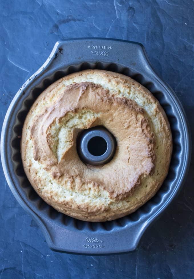 cooked lemon donut cake
