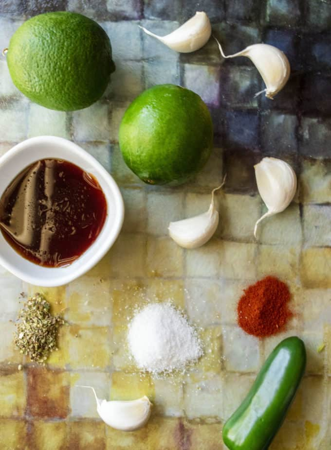 tequila lime marinade ingredients